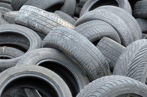 Consequências de sobre ou sub-inflado pneus