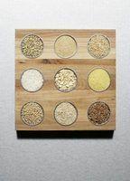 Instruções de cozimento do arroz calrose