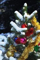 Frescos ao ar livre idéias de decoração de natal