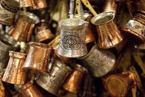 Idéias backsplash cozinha de cobre