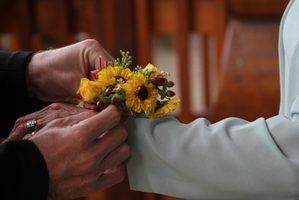 Flores corsage e significados