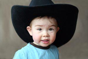 Cowboy & idéias do tema do chuveiro do bebê vaqueira