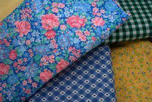 Crafts usando pequenos pedaços de tecido e sucatas