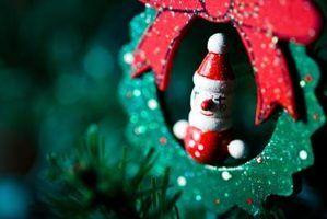 Artesanato de natal bonitos para miúdos para fazer