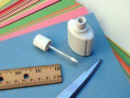 Produtos artesanais que irá endurecer papel