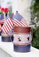 Presentes do dia memorial para os veteranos