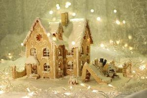 Decorações para fazer um olhar casa como uma casa de gengibre