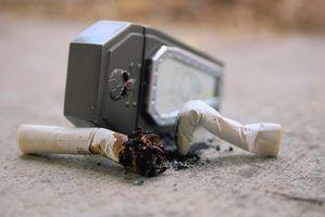 Diferença entre o cigarro de tabaco e tabaco de cachimbo
