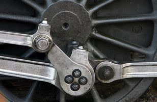 ferro fundido foi usado para construir ferrovias americanas no século 19.