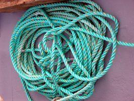 Nylon 6 é usado principalmente em cordas e redes.