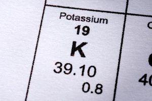 Diferença entre o potássio e citrato de potássio