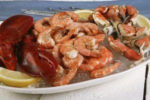 Diferenças entre o caranguejo, camarão e lagosta