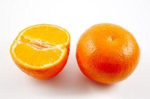 As diferenças entre uma tangerina e uma tangerina