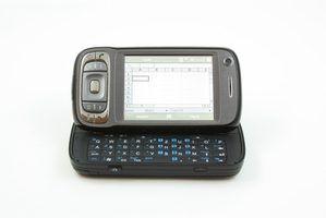 Diferenças em um blackberry smartphone vs.