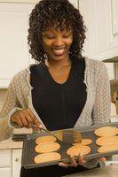 Diferentes tipos de folhas de cookie