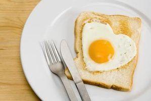 Diferentes tipos de ovos fritos