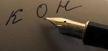 Diferentes tipos de canetas