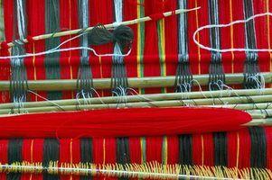 Diferentes tipos de teares de tecelagem