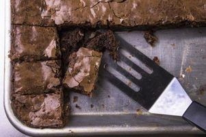 Instruções para usar o pan brownie perfeita