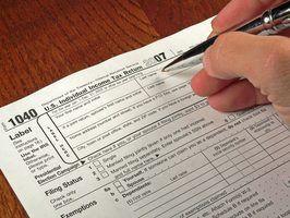 Lista de verificação de documentos para depósito impostos