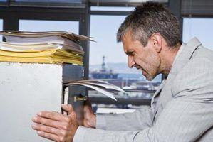 Regulamentos de armazenamento e retenção de documentos