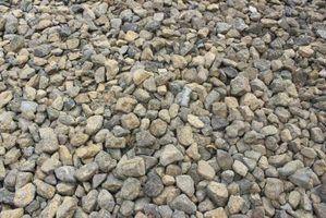 O cascalho fazer a melhor base para uma laje de concreto?