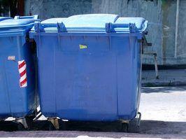 Especificações do gabinete lixo