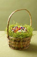 Ideias do cupcake de decoração de páscoa
