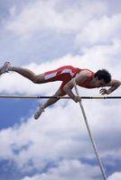 Transferências de energia que ocorre durante o processo de salto com vara