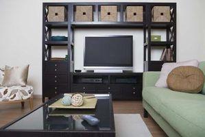 Ideias centro de entretenimento para pequenos espaços