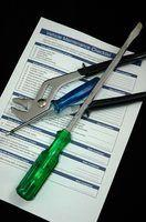 Equipamento lista de verificação de inspeção de segurança