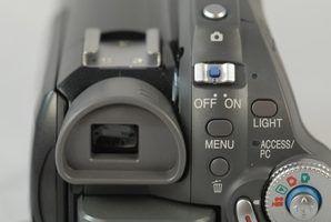 Códigos de erro para câmaras de vídeo sony