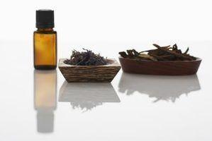 Os óleos essenciais utilizados para linfonodos