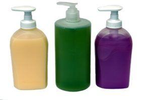 Experimentos com desinfetante para as mãos