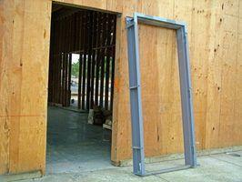 Especificações de construção moldura da porta exterior