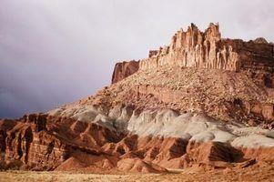 Cores exteriores casa para o deserto