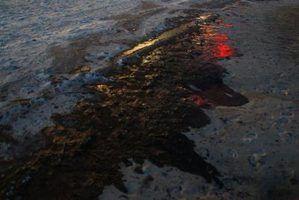 Fatos sobre os derrames de petróleo no oceano