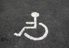 Os regulamentos federais estacionamento para deficientes físicos