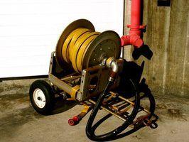 Requisitos carretel de mangueira de incêndio