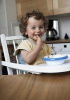 Primeiros alimentos para um bebê de 12 meses de idade