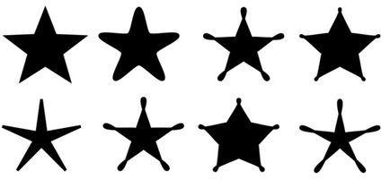 Fontes que têm estrelas