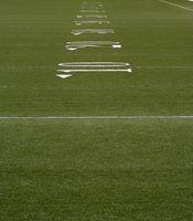 Piscina regras grade futebol