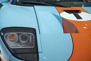 Ford gt40 especificações de potência
