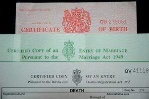 Formas para um nome errado na certidão de nascimento