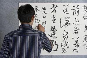 Quatro formas de poesia chinesa
