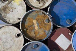 Ficha do tanque de armazenamento de combustível