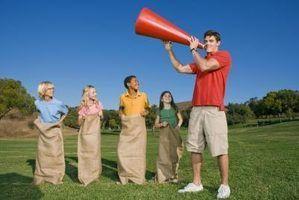 Idéias divertidas para o treinamento pessoal do acampamento
