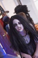 Penteados vampiro da menina