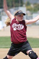Meninas regras softball de arremesso liga júnior