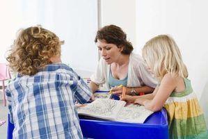 Metas para o professor de jardim de infância